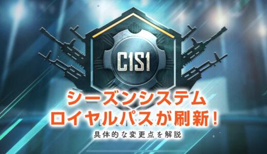 C1S1以降のシーズンシステム、及びロイヤルパスが刷新!具体的な変更点を解説